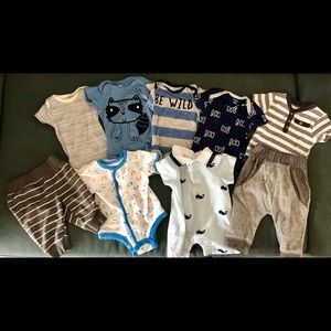 0-3 month outfit bundle